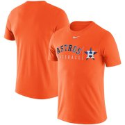 Wholesale Cheap Houston Astros Nike MLB Practice T-Shirt Orange