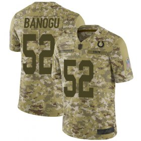 Wholesale Cheap Nike Colts #52 Ben Banogu Camo Men\'s Stitched NFL Limited 2018 Salute To Service Jersey