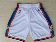 Wholesale Cheap Oklahoma City Thunder White Short