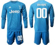 Wholesale Cheap Juventus Personalized Third Long Sleeves Soccer Club Jersey