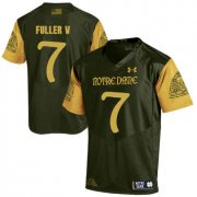 Wholesale Cheap Notre Dame Fighting Irish 7 Will Fuller V Olive Green College Football Jersey
