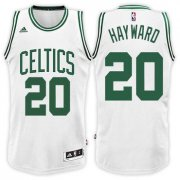 Wholesale Cheap Boston Celtics #20 Gordon Hayward Home White New Swingman Jersey