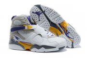 Wholesale Cheap Womens Air Jordan 8 Kobe 8 pe White/Blue-yellow