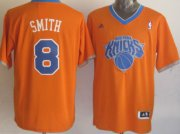 Wholesale Cheap New York Knicks #8 J.R. Smith Revolution 30 Swingman 2013 Christmas Day Orange Jersey