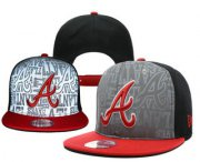Wholesale Cheap MLB Atlanta Braves Snapback Ajustable Cap Hat YD 5