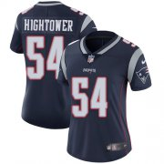 Wholesale Cheap Nike Patriots #54 Dont'a Hightower Navy Blue Team Color Women's Stitched NFL Vapor Untouchable Limited Jersey