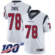 Wholesale Cheap Nike Texans #78 Laremy Tunsil White Men's Stitched NFL 100th Season Vapor Untouchable Limited Jersey