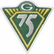 Wholesale Cheap Stitched NFL Green Bay Packers 75th Jersey Patch