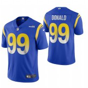 Wholesale Cheap Los Angeles Rams #99 Aaron Donald Men's Nike Royal 2020 Vapor Untouchable Limited NFL Jersey
