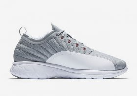 Wholesale Cheap Jordan Trainer Prime Shoes Wolf Grey/Team Red-White