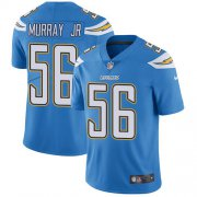 Wholesale Cheap Nike Chargers #56 Kenneth Murray Jr Electric Blue Alternate Youth Stitched NFL Vapor Untouchable Limited Jersey