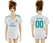 Wholesale Cheap Women's Real Madrid Personalized Home Soccer Club Jersey