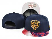 Wholesale Cheap Bears Fresh Logo Navy Adjustable Hat SF