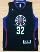 Wholesale Cheap Men's Los Angeles Clippers #32 Blake Griffin Revolution 30 Swingman 2015-16 Black Jersey