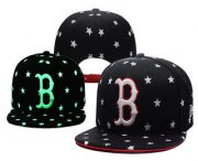 Wholesale Cheap MLB Boston Red Sox Snapback Ajustable Cap Hat YD 2