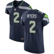 Wholesale Cheap Nike Seahawks #2 Jason Myers Steel Blue Team Color Men's Stitched NFL Vapor Untouchable Elite Jersey