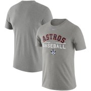 Wholesale Cheap Houston Astros Nike Practice T-Shirt Heathered Gray