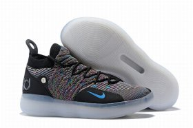 Wholesale Cheap Nike KD 11 Black Rainbow