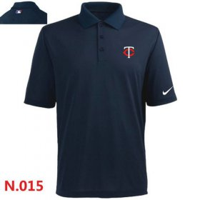 Wholesale Cheap Nike Minnesota Twins 2014 Players Performance Polo Dark Blue