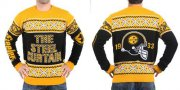 Wholesale Cheap Nike Steelers Men's Ugly Sweater