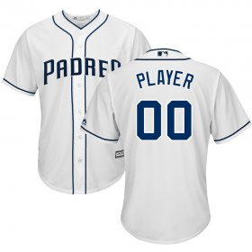 Wholesale Cheap San Diego Padres Majestic 2017 Cool Base Custom Baseball Jersey White