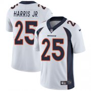 Wholesale Cheap Nike Broncos #25 Chris Harris Jr White Men's Stitched NFL Vapor Untouchable Limited Jersey