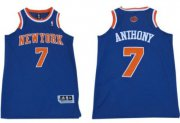 Wholesale Cheap New York Knicks #7 Carmelo Anthony Revolution 30 Swingman 2013 Blue Jersey