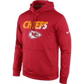 Wholesale Cheap Kansas City Chiefs Nike Kick Off Staff Performance Pullover Hoodie Red