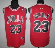 Wholesale Cheap Chicago Bulls #23 Michael Jordan Revolution 30 Swingman Red Jersey