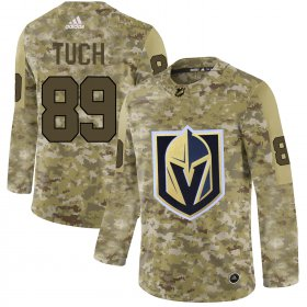 Wholesale Cheap Adidas Golden Knights #89 Alex Tuch Camo Authentic Stitched NHL Jersey