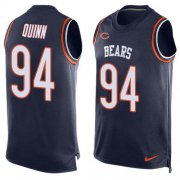 Wholesale Cheap Nike Bears #94 Robert Quinn Navy Blue Team Color Men's Stitched NFL Limited Tank Top Jersey