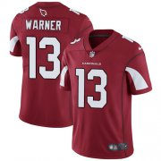 Wholesale Cheap Nike Cardinals #13 Kurt Warner Red Team Color Men's Stitched NFL Vapor Untouchable Limited Jersey