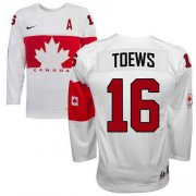 Wholesale Cheap Olympic 2014 CA. #16 Jonathan Toews White Stitched NHL Jersey
