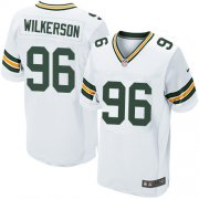 Wholesale Cheap Nike Packers #96 Muhammad Wilkerson White Men's Stitched NFL Elite Jersey
