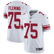 Wholesale Cheap Nike Giants #75 Cameron Fleming White Youth Stitched NFL Vapor Untouchable Limited Jersey