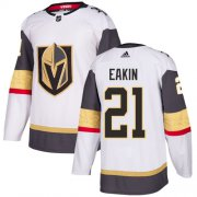Wholesale Cheap Adidas Golden Knights #21 Cody Eakin White Road Authentic Stitched NHL Jersey