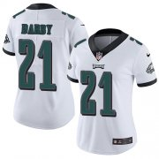 Wholesale Cheap Nike Eagles #21 Ronald Darby White Women's Stitched NFL Vapor Untouchable Limited Jersey