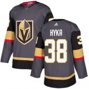 Wholesale Cheap Adidas Golden Knights #38 Tomas Hyka Grey Home Authentic Stitched Youth NHL Jersey