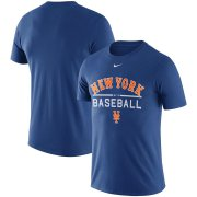Wholesale Cheap New York Mets Nike Away Practice T-Shirt Royal