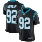 Wholesale Cheap Nike Panthers #92 Vernon Butler Black Team Color Youth Stitched NFL Vapor Untouchable Limited Jersey