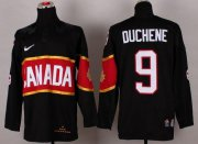 Wholesale Cheap Olympic 2014 CA. #9 Matt Duchene Black Stitched NHL Jersey