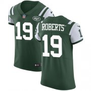 Wholesale Cheap Nike Jets #19 Andre Roberts Green Team Color Men's Stitched NFL Vapor Untouchable Elite Jersey
