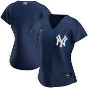 Wholesale Cheap New York Yankees Nike Women's Alternate 2020 MLB Team Jersey Navy