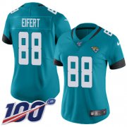 Wholesale Cheap Nike Jaguars #88 Tyler Eifert Teal Green Alternate Women's Stitched NFL 100th Season Vapor Untouchable Limited Jersey