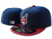 Wholesale Cheap Cleveland Indians fitted hats 01