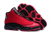 Wholesale Cheap Air Jordan 13 Wool Red/Black