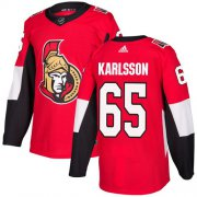 Wholesale Cheap Adidas Senators #65 Erik Karlsson Red Home Authentic Stitched Youth NHL Jersey