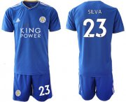 Wholesale Cheap Leicester City #23 Silva Home Soccer Club Jersey
