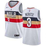 Wholesale Cheap Nike Pelicans #3 Nikola Mirotic White NBA Swingman Earned Edition Jersey