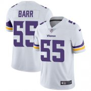 Wholesale Cheap Nike Vikings #55 Anthony Barr White Men's Stitched NFL Vapor Untouchable Limited Jersey